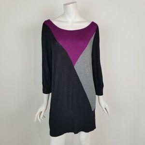 WHBM Scoop Neck Mini Sweater Dress Size XL